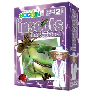 Outset Media - 11402 | Prof. Noggin Insects and Spiders Game