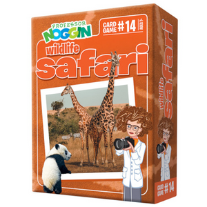 Outset Media - 11414 | Prof. Noggin Wildlife Safari Game