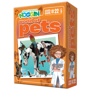 Outset Media - 11422 | Prof. Noggin World of Pets Game