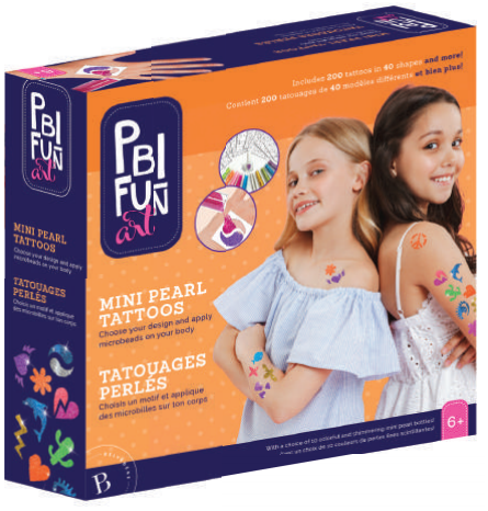 PBI - 010953 | Fun Art: Shimmering Mini-Pearl Tattoo