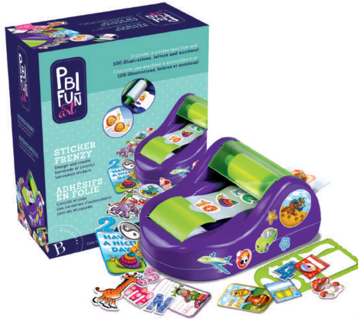 PBI - 054773 | Fun Art: Sticker Frenzy
