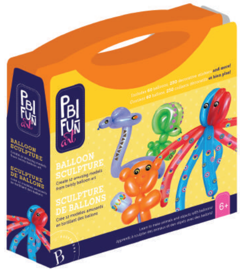 PBI - 057019 | Fun Art: Balloon Sculpture