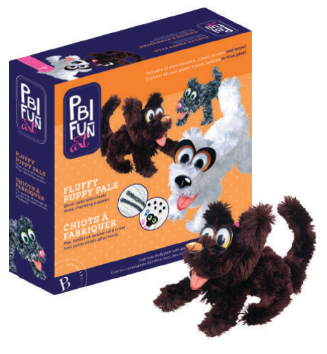 PBI - 059112 | Fun Art: Giant Pipe Cleaners Puppies