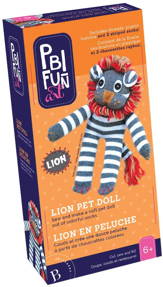 PBI - 06083 | Fun Art: Lion Pet Doll