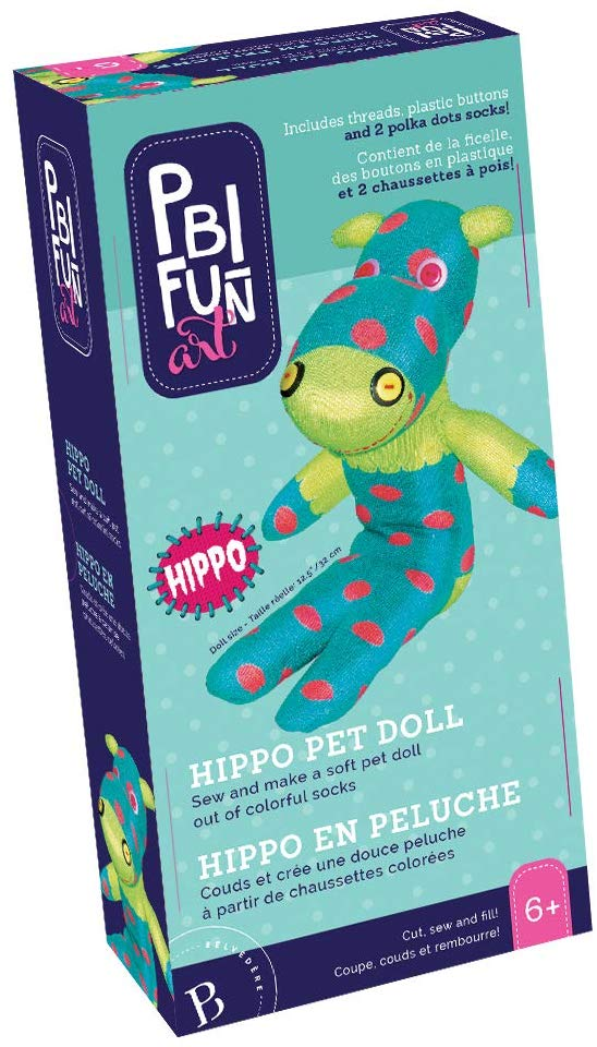 PBI - 060859 | Fun Art: Hippo Pet Doll