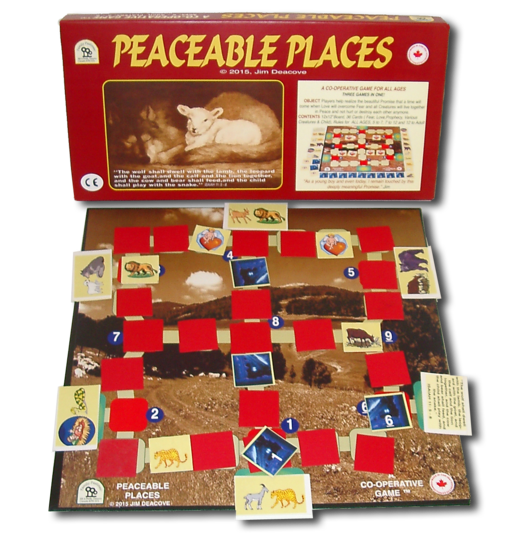Family Pastimes - Peaceable Places - A Co-operative Game For All Ages