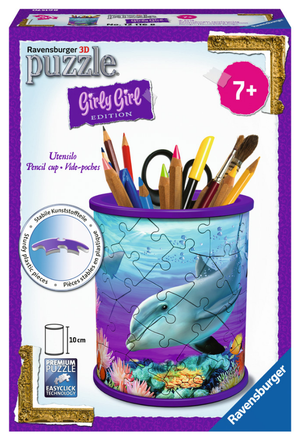 Ravensburger - 121168 | Pencil Holder Puzzle: Under the Sea
