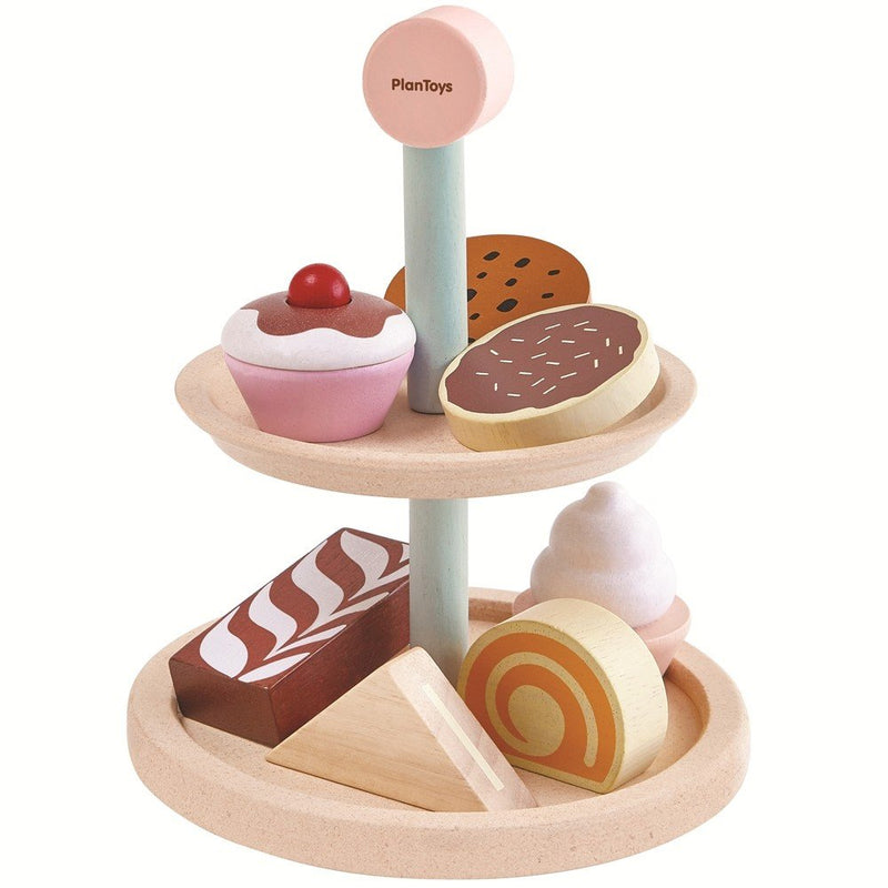 Plan Toys - 3489 | Bakery Stand Set