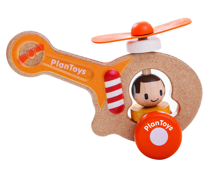 Plan Toys - 5685 | Helicopter
