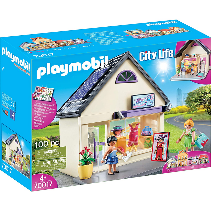 Playmobil - 70017 | My Little Town - My Fashion Boutique