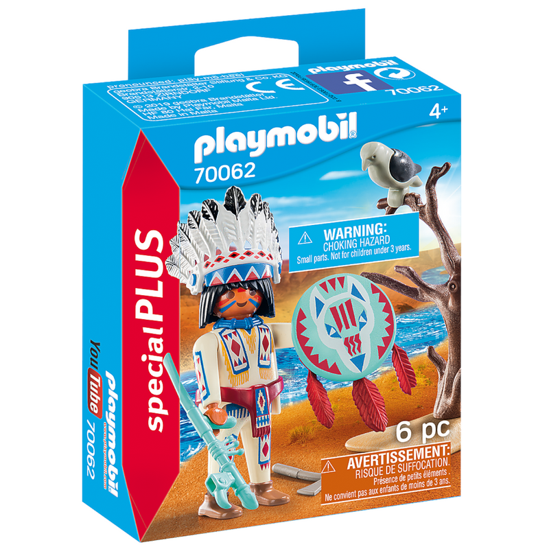 Playmobil - 70062 | Special Plus: Native American Chief