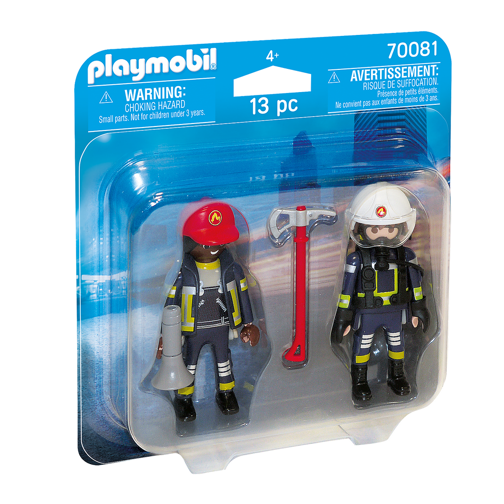 Playmobil - 70081 | Duo Pack: Rescue Firefighters