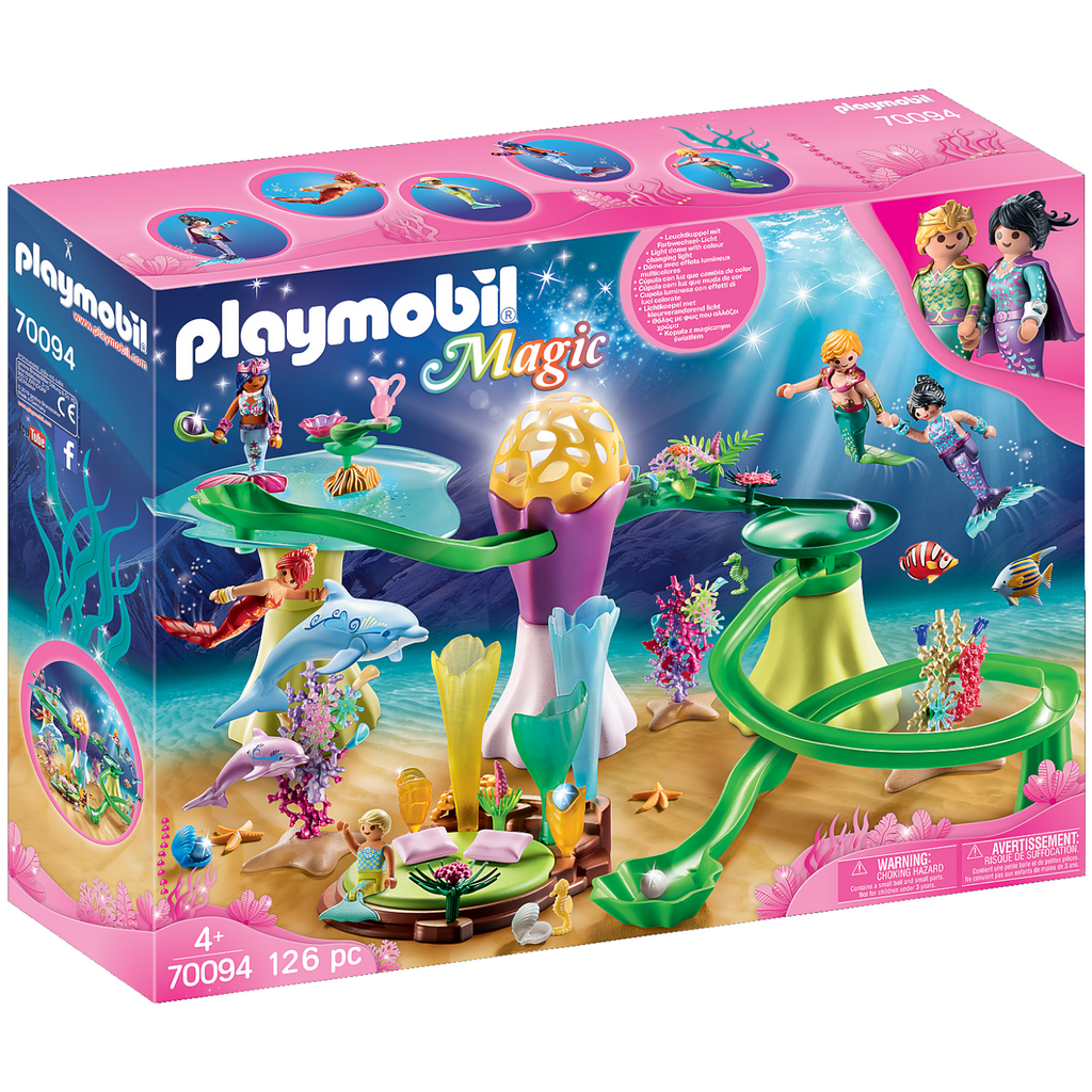 Playmobil - 70094 | Mermaid Cove with Illuminated Dome