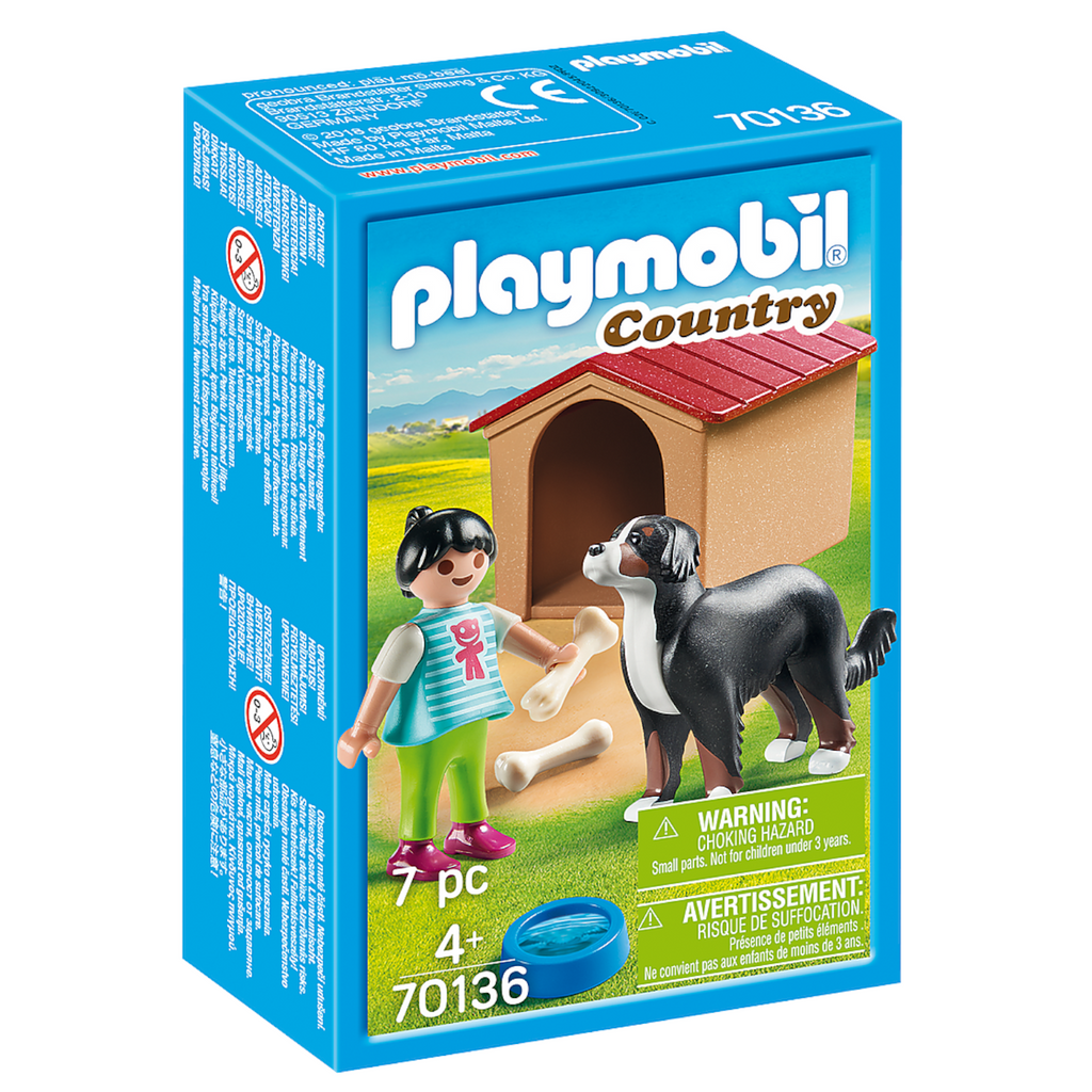 Playmobil - 70136 | Country: Dog with Doghouse