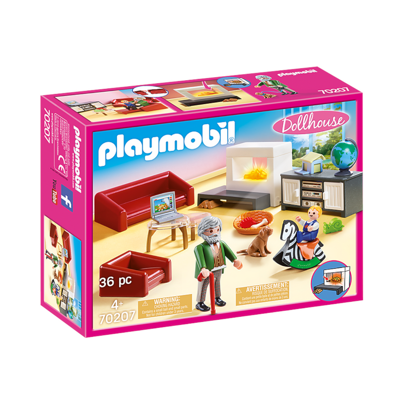 Playmobil - 70207 | Dollhouse: Comfortable Living Room