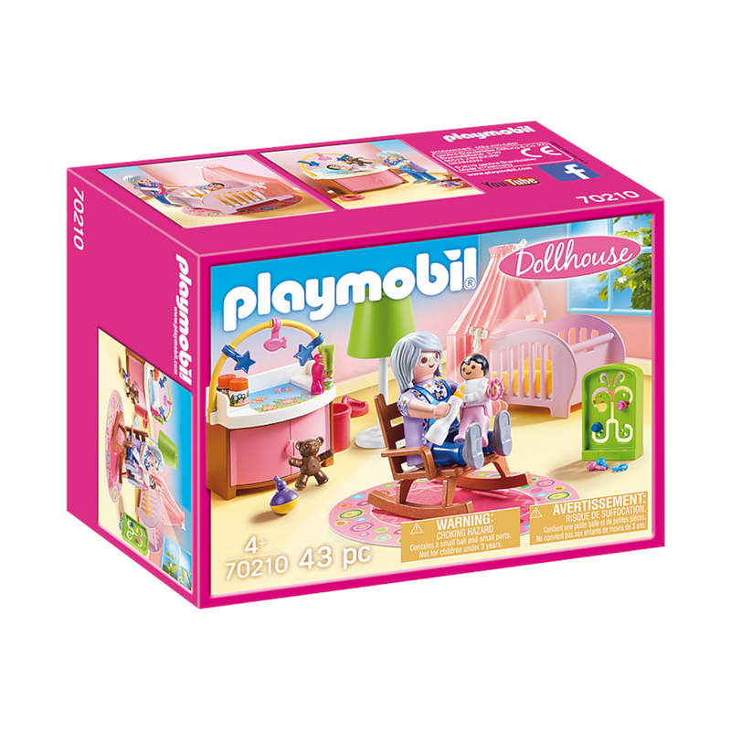 Playmobil - 70210 | Dollhouse: Nursery