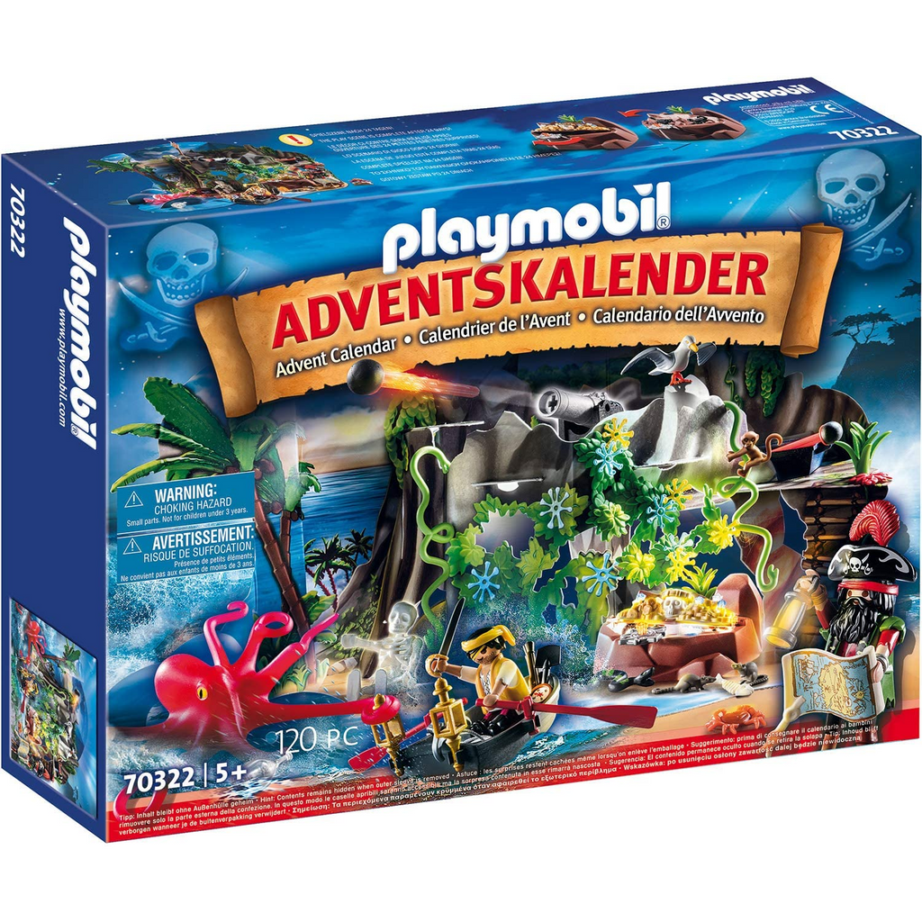 Playmobil - 70322 | Advent Calendar: Pirate Cove Treasure Hunt for the Advent