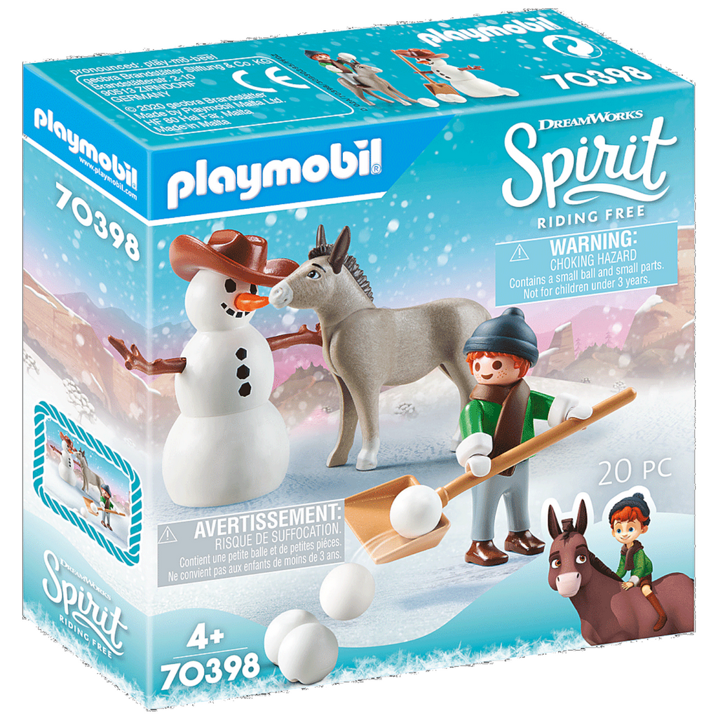 Playmobil - 70398 | Spirit: Snow Time with Snips and Senor Carrot
