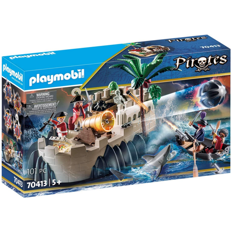 Playmobil - 70413 | Pirates: Redcoat Bastion
