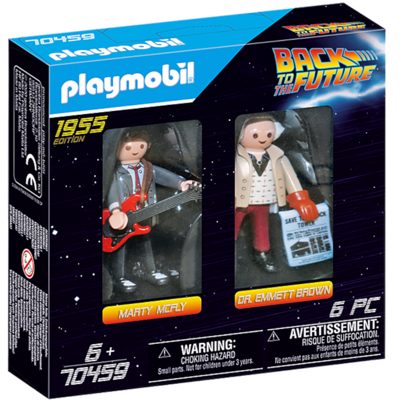 Playmobil - 70459 | Back to the Future: Marty Mcfly and Dr. Emmet Brown 1955 Edition