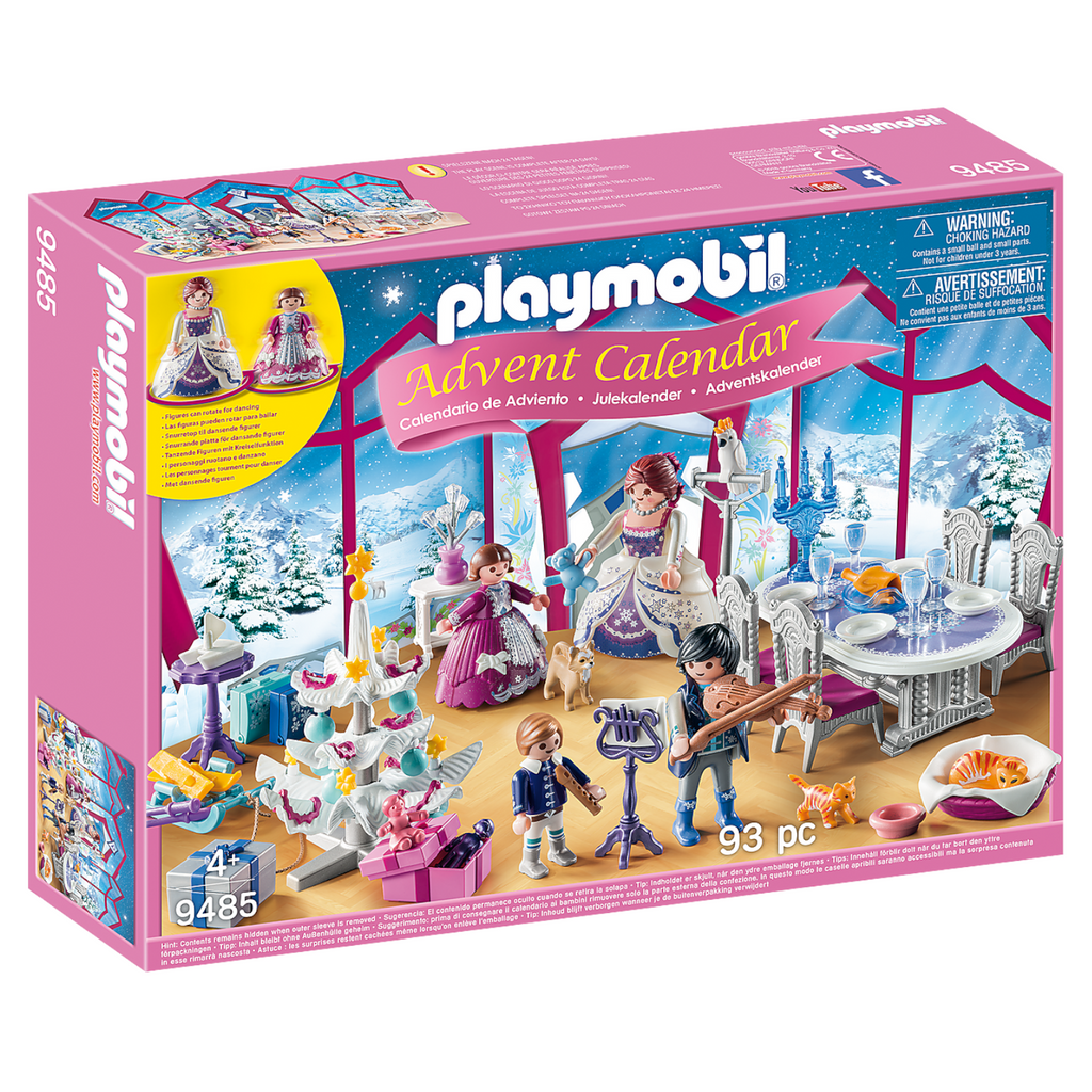 Playmobil - 9485 | Advent Calendar: Crystal Ball Palace 2019