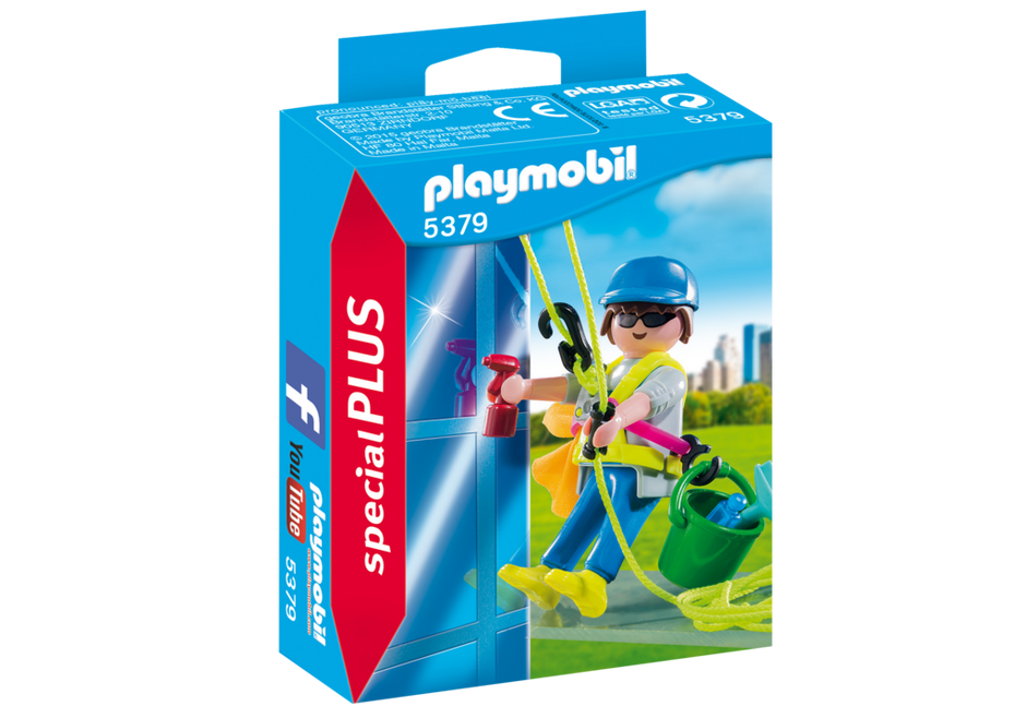 Playmobil - 5379 | Special Plus: Window Cleaner