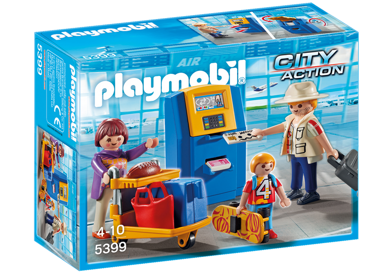 Playmobil - 5399 | City Action: Family at Check-In
