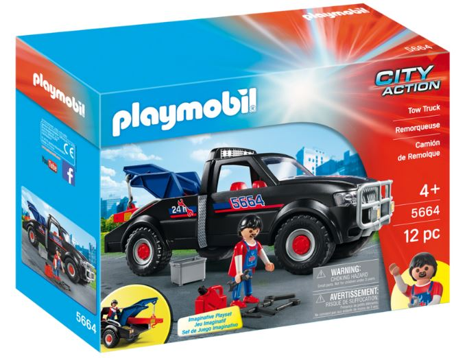 Playmobil - 5664 | City Action: Tow Truck