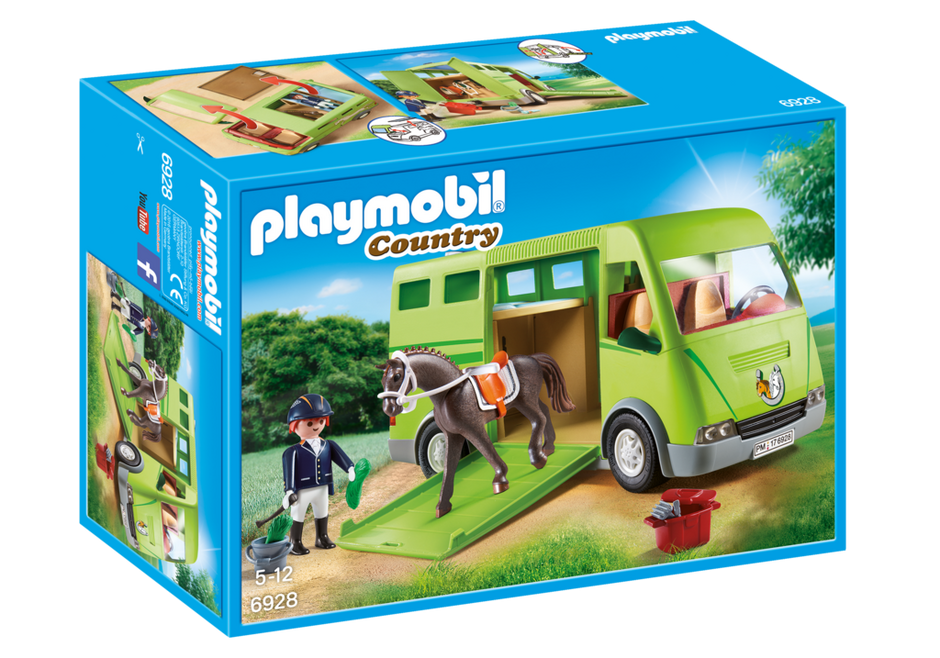 Playmobil - 6928 | Country: Horse Transporter