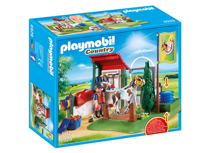Playmobil - 6929 | Country: Horse Grooming Station