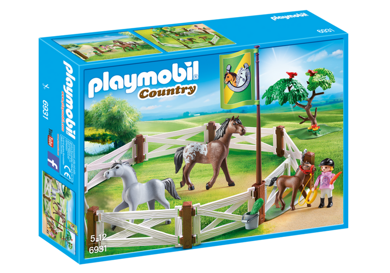 Playmobil - 6931 | Country: Horse Paddock