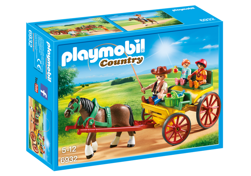 Playmobil - Country: Horse-Drawn Wagon