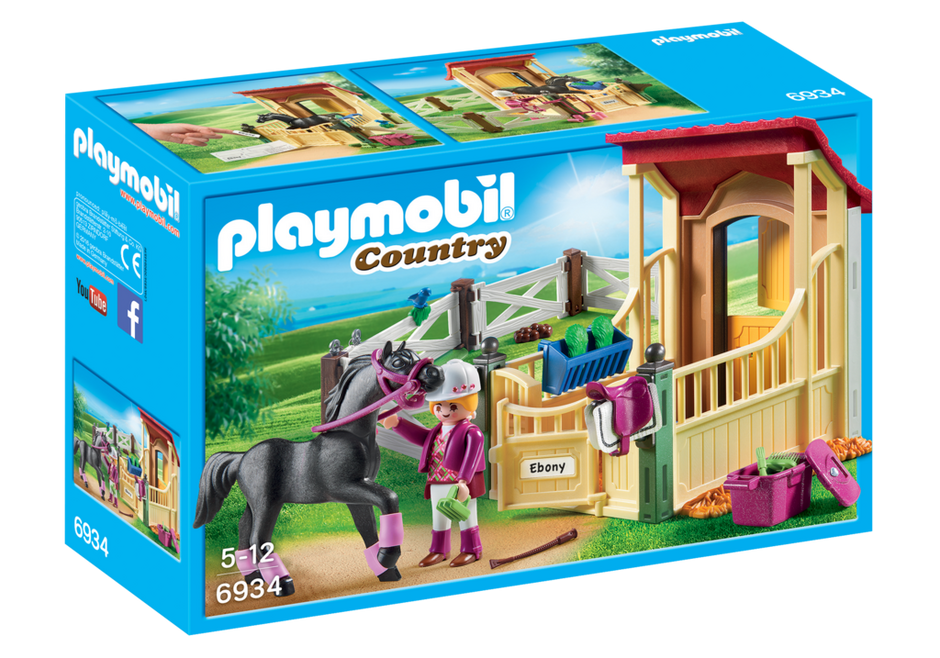 Playmobil - Country: Horse Stable With Arabian Horse