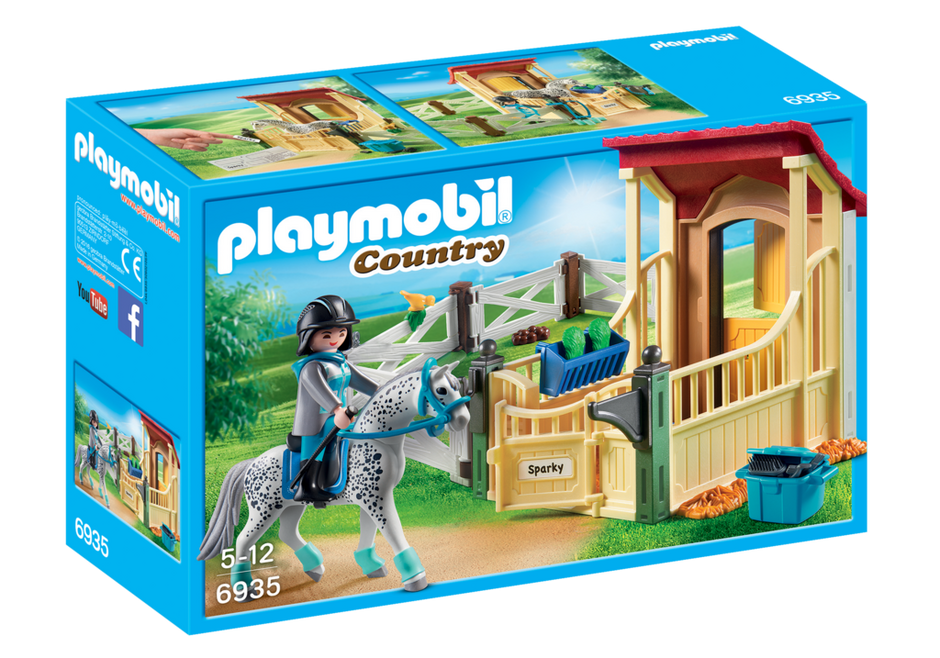 Playmobil - 6935 | Country: Horse Stable With Appaloosa
