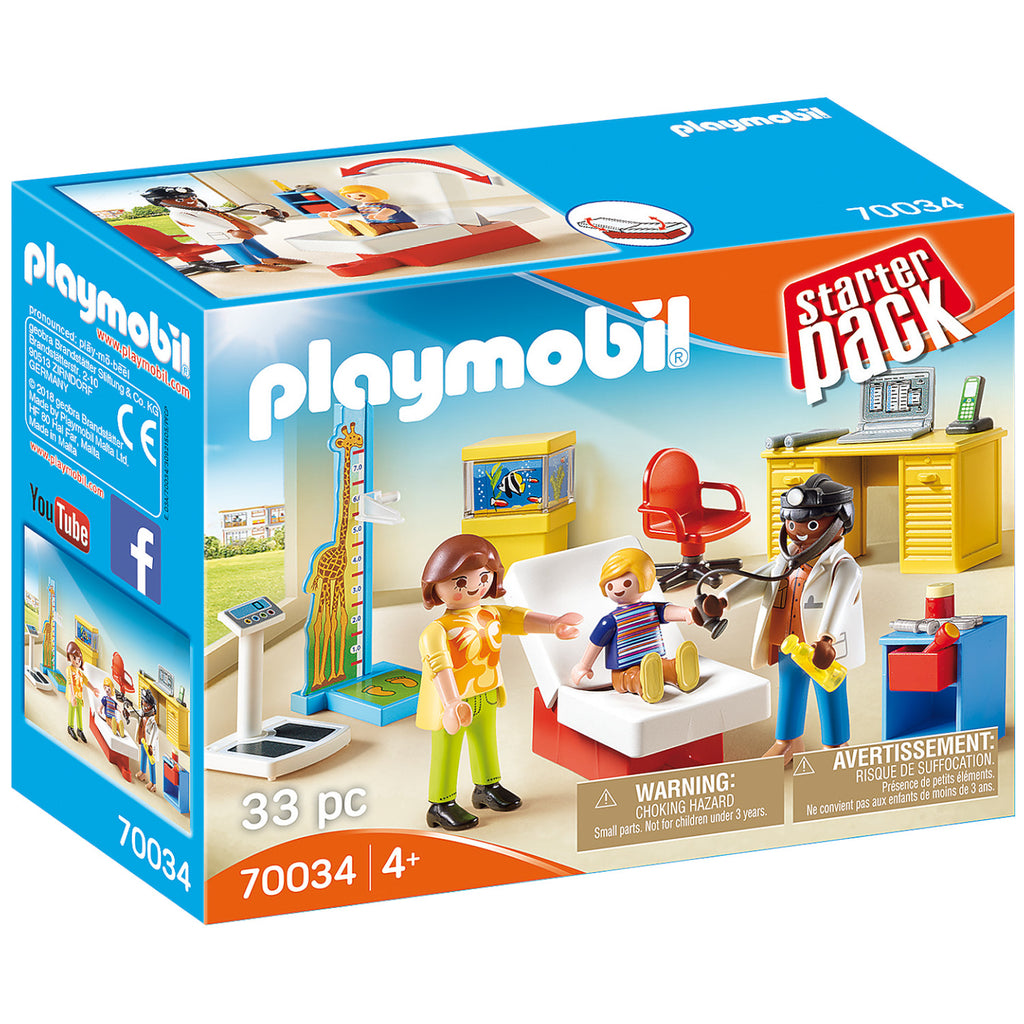 Playmobil - 70034 | StarterPack Pediatrician's Office