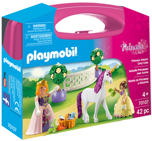 Playmobil - 70107 | Princess: Princess Unicorn Carry Case