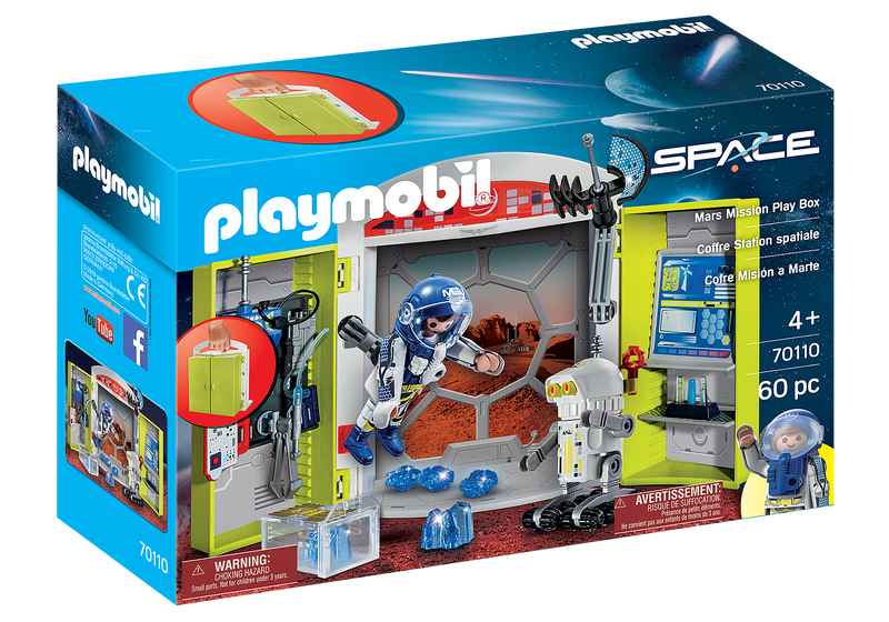 Playmobil - 70110 | Space: Mars Mission Play Box