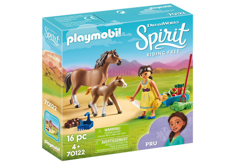 Playmobil - 70122 | Pru with Horse and Foal
