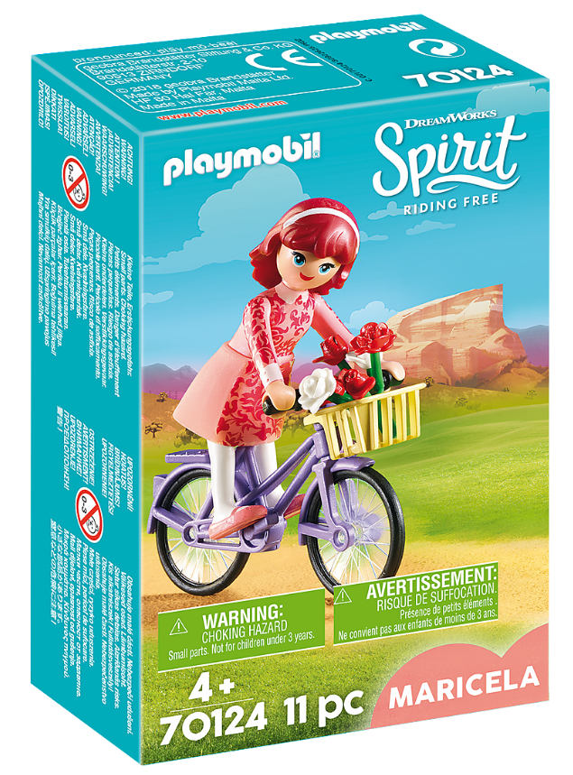 Playmobil - 70124 | Maricela with Bicycle