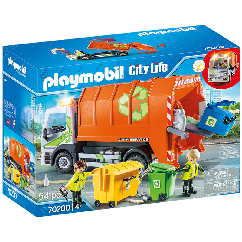 Playmobil - 70200 | Recycling Truck