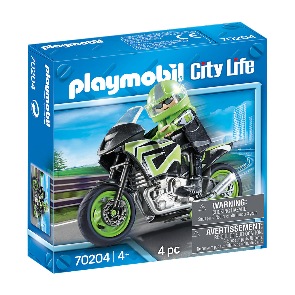 Playmobil - 70204 | Motorcycle with Rider