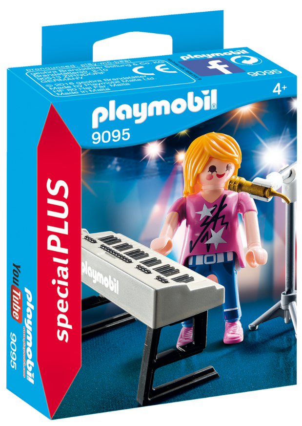 Playmobil - 9095 | Special Plus: Singer With Keyboard
