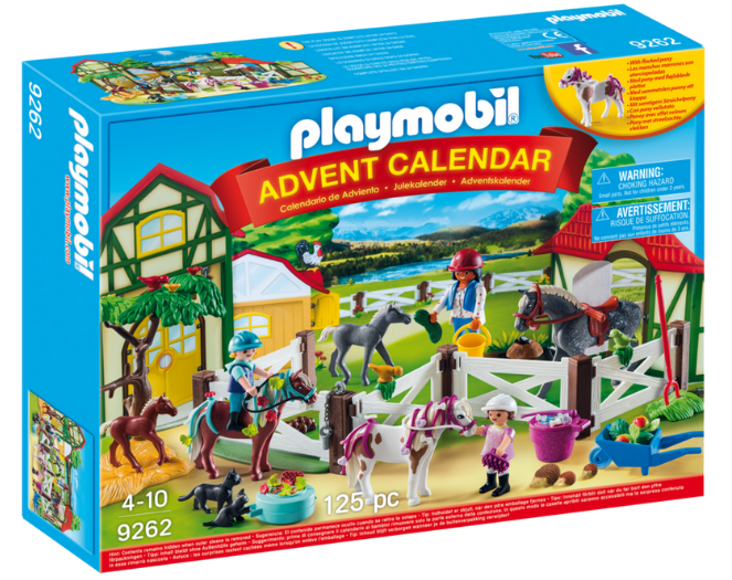 Playmobil - 9262 | Advent Calendar: Horse Farm 2017