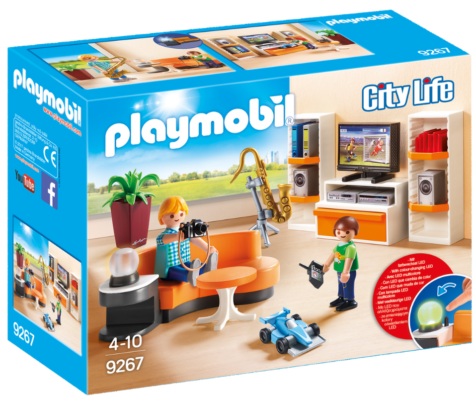 Playmobil - 9267 | City Life: Living Room