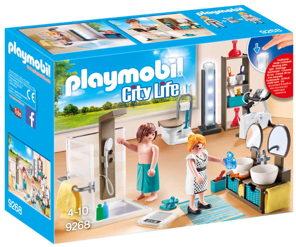 Playmobil - 9268 | City Life: Bathroom
