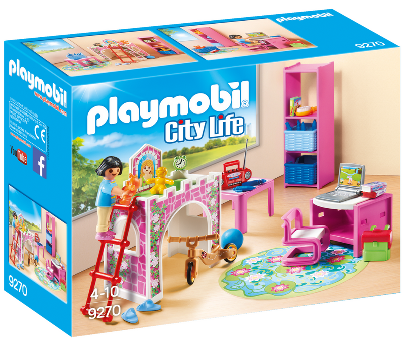 Playmobil - 9270 | City Life: Children's Room