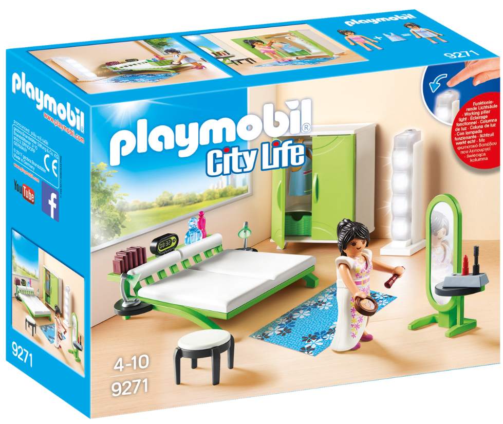 Playmobil - 9271 | City Life: Bedroom