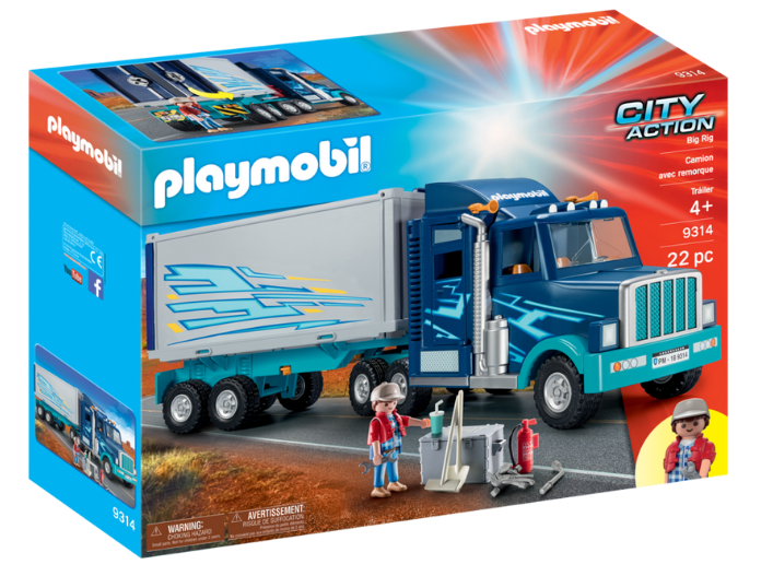 Playmobil - 9314 | City Action: Big Rig