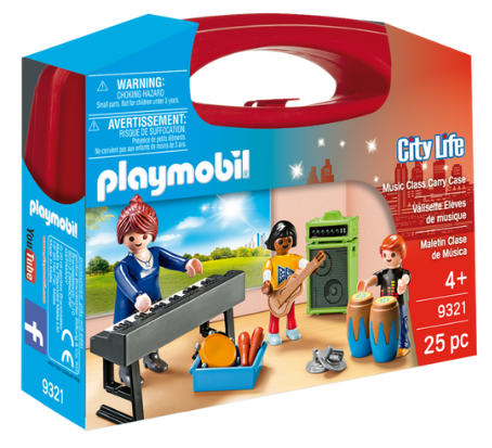 Playmobil - 9321 | City Life: Music Class Carry Case