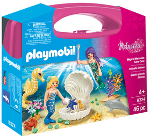 Playmobil - 9324 | Princess: Magical Mermaids Carry Case